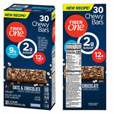 📌Fiber One Oats and Chocolate Chewy Bars 10,18,30,60, ct. *FRESH* FREE RETURNS