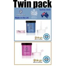 2 pack Gold+Silver Town Talk  Dips Jewellery Cleaner 225ml each Jewelry cleaning