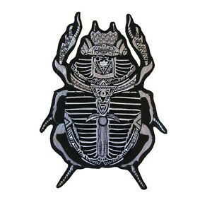 Scarab Beatle Large Iron On Patch Quality Back Patches Badge 20 cm x 29 cm P450