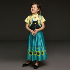 Kids Girls Halloween Cosplay Princess Party Prom Book Week Costume