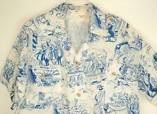 Rare VTG Sandwich Islander Barbershop chorus Hawaiian Shirt Aloha USA