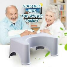 Thickened Anti-Slip Bathroom Toilet Step Stool Elderly Woman Child Stool White