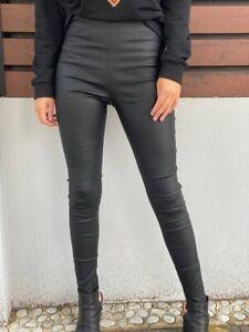 Fraya High Waisted Black Pants