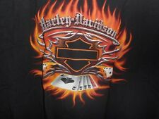 Harley Davidson of Las Vegas, NV. 100% Cotton Black T-Shirt XXL Mint (2007)