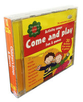 Children's Songs & Games 2CDs activity, nursery favourites and kids songs *NEW*