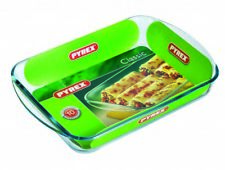 PYREX Glass Rectangular Roaster 35x23cm Delivery
