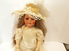 Heubach Koppelsdorf Antique German Doll 28 Bisque Head Composition Ball Jointed