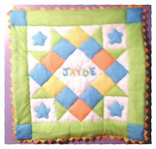 Personalized Baby Boy Pre-Cut Quilt Kit w/ Pattern Sewing Craft
