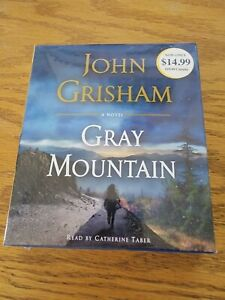 """NEW John Grisham """"GRAY MOUNTAIN"""" Audiobook (CD)"""