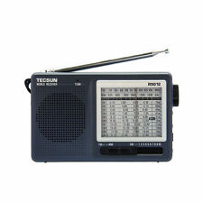 Tecsun R-9012 Radio Multi-Bands FM MW SW 12 Bands Shortwave Radio Receiver Gray