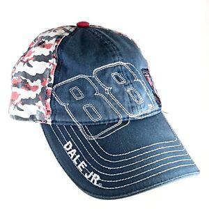 Dale Earnhardt Jr Nascar 88 Patriotic Baseball Cap Hat Honoring Our Soldiers