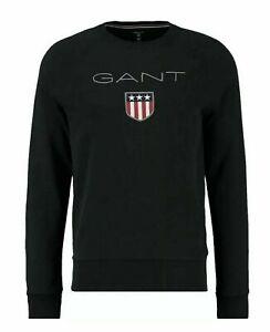 Gant SHIELD C NECK Sweatshirt Sweater Pulli Pullover Rundhalspullover alleGrößen