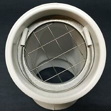 "Furnace, Boiler and Hot Water Heater Bird and Animal 2"" PVC Pipe Vent Cap"