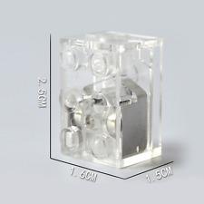 🤩 🌟 2 x luci LED LUNARE compatibile con i blocchi LEGO Asse GRATIS!!! BIANCO 🌟