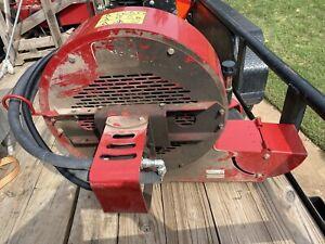 TORO Debris Leaf Blower Hydraulic Tractor Commercial Blower Sand Pro Used