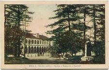 1933 Biella giardino pubblico stazione monumento Garibaldi Vercelli FP COL VG