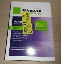 H&R Block Tax Software ~ 2012 Deluxe Homeowners Investors