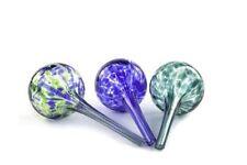 Aqua Globe Mini  3 Pack Decorative Hand blown Glass Small Plant Watering Bulbs
