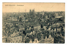 Bruxelles - Panorama Photo Postcard 1928