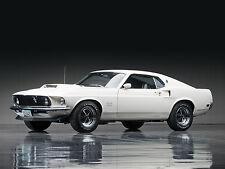 "24"" x 36"" Poster 1969 Mustang Boss 429 Classic Muscle Car"