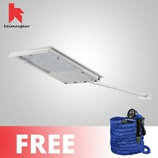 Keimavgear Waterproof Long Handle Solar LED Light Free Expandable Hose 100ft