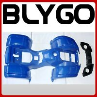 BLUE Plastics Fairing Fender Guard Cover Kit 110cc 125cc Farm Quad Dirt Bike ATV