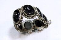 925 sterling silver Black Onyx Gemstone bracelet jewelry