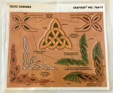 Tandy Leather Factory Celtic Corners Pattern Stencil NEW Craftaid No. 76612