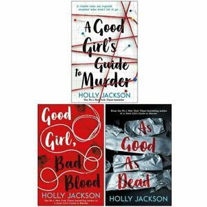A Good Girl's Guide to Murder Series 3 Books Collection Set By Holly Jackson NEW