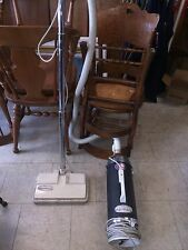 Vintage Handy Way Sani-Clean Canister Vacuum Cleaner