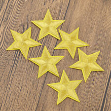 Embroidery Patch Star Shaped Handcraft DIY Iron On Fabric Sticker Clothing Decor