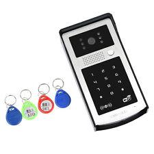 Wireless WIFI Video Door Intercom Doorbell+ID card for Android/IOS Mobile Phone