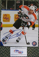 RARE ZAC RINALDO AUTO SIGNED 8 x 10 PHOTO FLYERS COMES WITH COA