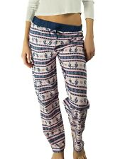 Designer Ladies Warm Lounge Night Sleep Fashion Rest Cotton Pants for Womens