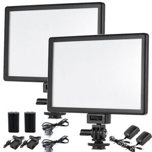 2x VILTROX L116T Foto LED Licht Panel Videolicht DSLR Kamera Studio Leuchte