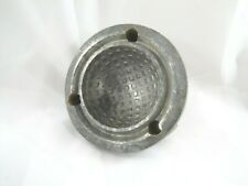 Rare Vintage ½ of a Square Dimple Golf Ball Mold