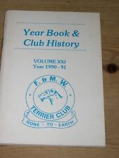 More details for rare fell & moorland working terrier club dog book 1990-91
