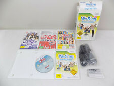 Brand New Nintendo Wii We Sing Down Under Microphone Mic Pack + 5x Games