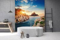 Details about  /3D Snow Motorcycle R03 Transport Wallpaper Mural Sefl-adhesive Removable Zoe