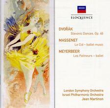 Dvorak / Martinon / - Dvorak: Slavonic Dances / Massenet: Le Cid [New CD]