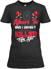 Couple S 6th Wedding Anniversary Gildan Women's Tee T-Shirt