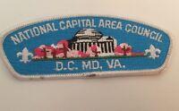 National Capital Area Council Boy Scouts Of America Shoulder Patch Vintage