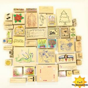 Vintage Stamps, Adult owned name brand stamp Lot, almost 50 Stamps! New and Usd