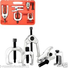 5 PC FRONT END BALL JOINT SERVICE TIE ROD TOOL KIT SET PITMAN ARM PULLER REMOVER