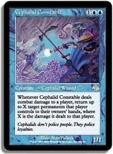 MTG MAGIC JUDGMENT CEPHALID CONSTABLE (JAPANESE)