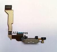 New White Charging Port Flex Cable For Apple iPhone 4 CDMA Verizon Sprint