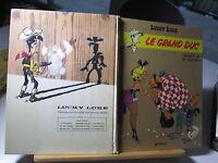 LUCKY LUKE LE GRAND DUC EO1973 ABIME/BE MORRIS REFV3