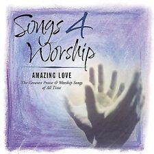 Songs 4 Worship: Amazing Love - Various Artists (CD, Mar-2002) 2 CD - Free Ship