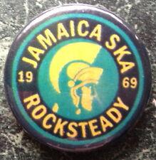 JAMAICA SKA BUTTON BADGE 1 INCH SCOOTER MOD REGGAE  SKINHEAD PIN RALLIES PATCH