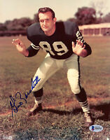 Colts Gino Marchetti Authentic Signed 8x10 Photo Autographed BAS #H66542
